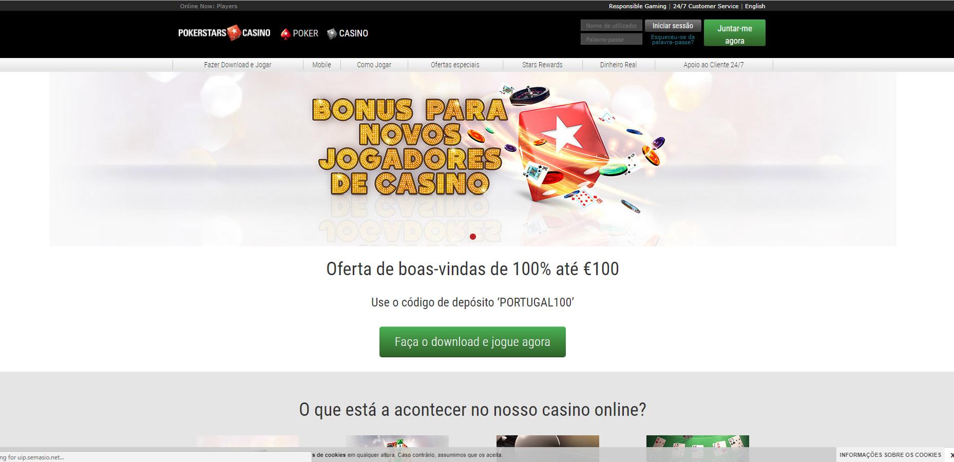65a8927ec3 PokerStars Casino Resenha e Bónus - Casino Online Portugal